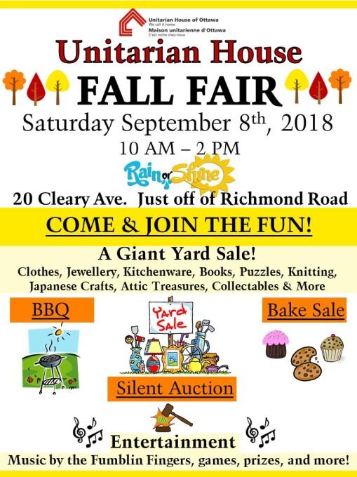 Fall Fair Poster